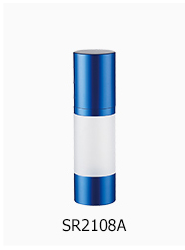 15ml/30ml/50ml plastic cosmetic airless bottle,plastic round airless bottle,cosmetic airless pump bottle