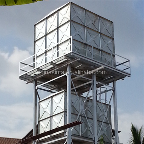 Galvanized Steel Storage Water Tank