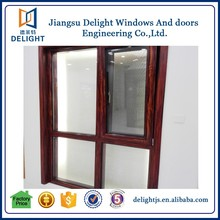Aluminum alloy sliding screen wood window philippine design for home