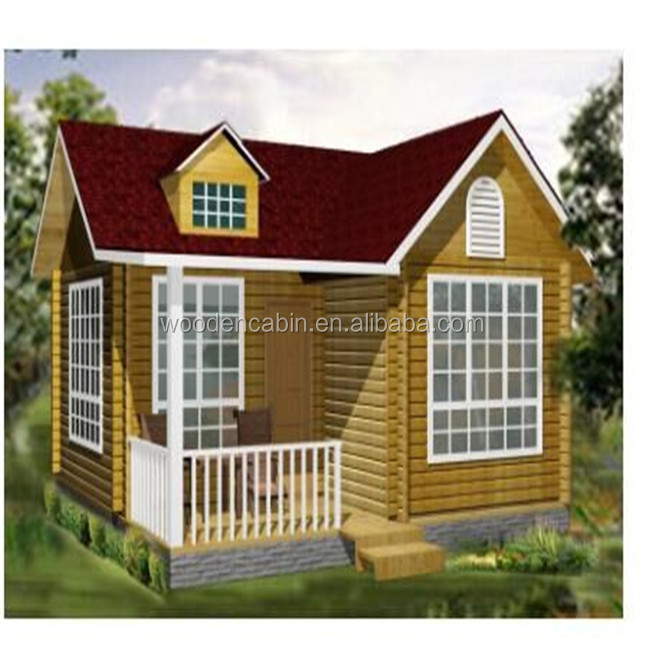 Europe standard leisure wooden house with high quality