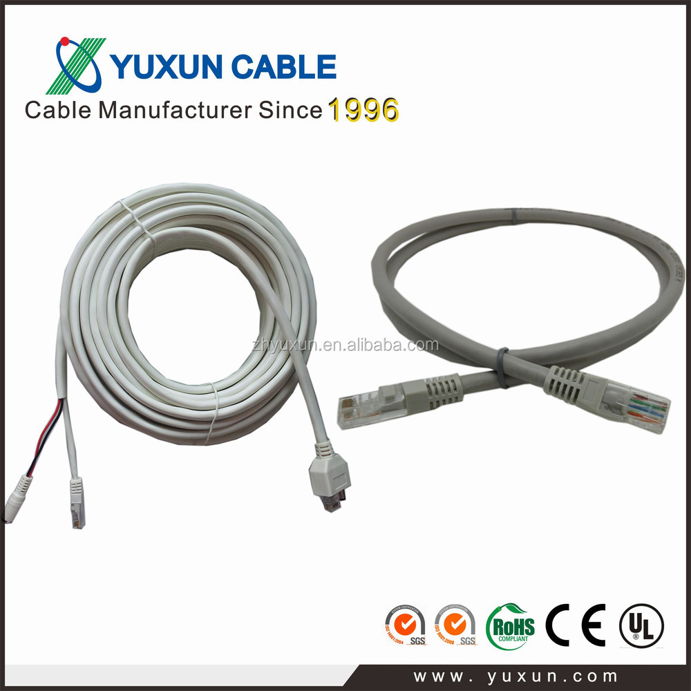 Yuxun Utp/ftp/sftp/indoor/outdoor Cca Cat5e Cable Cat6 Cable Network Cable