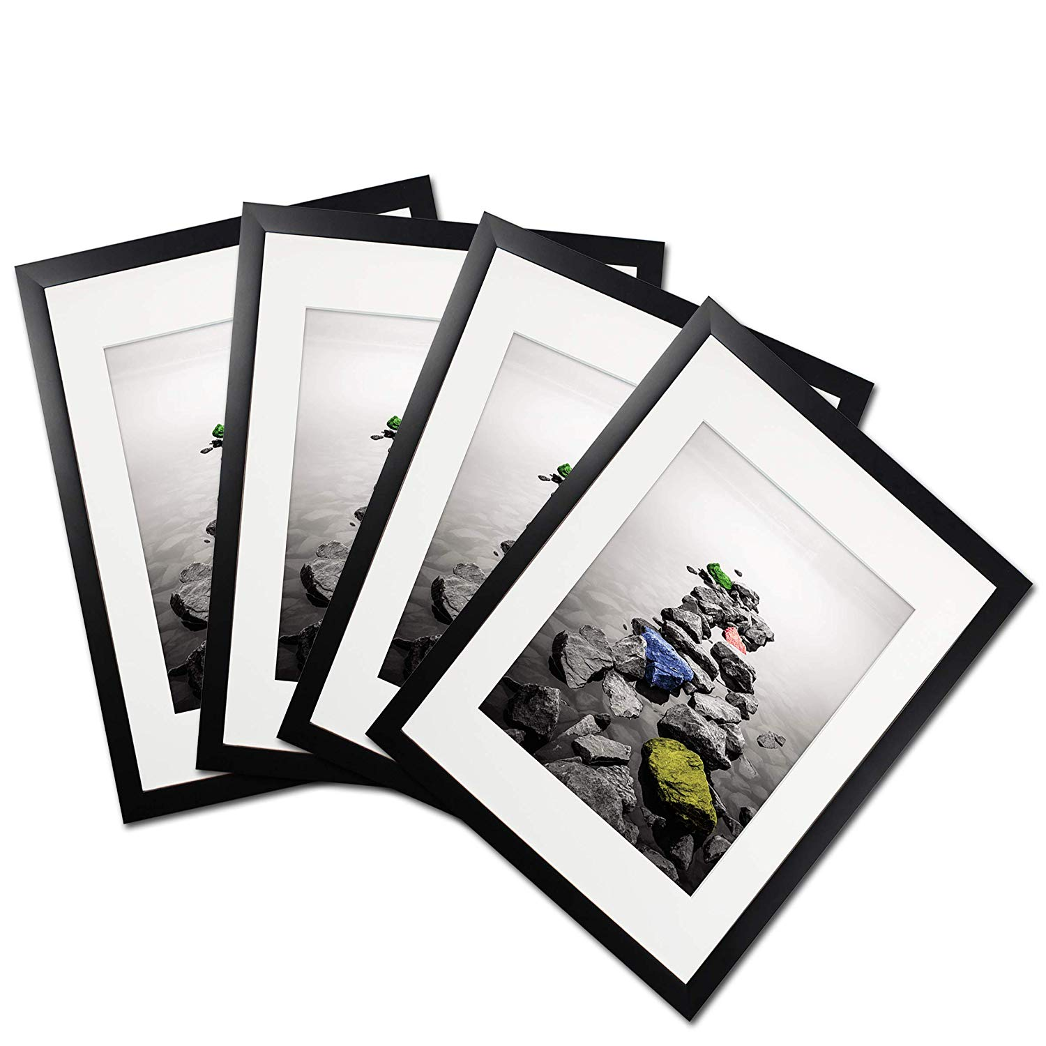 Get Quotations  C2 Bx14 Black Picture Frame Document Diploma Frames Made To Display Pictures 8x10 With