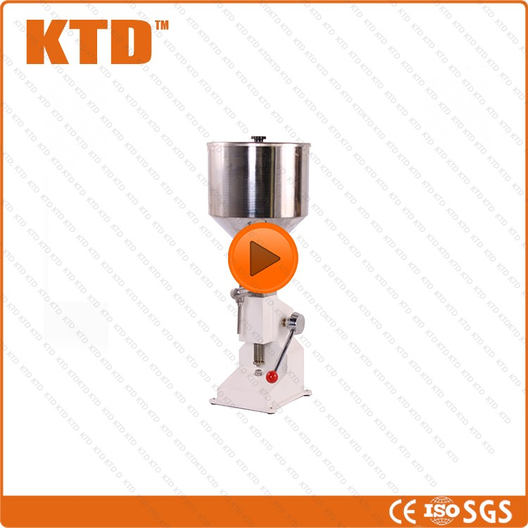 ISO CE GMP 2-50ml manual hand deodorization cream filling machine
