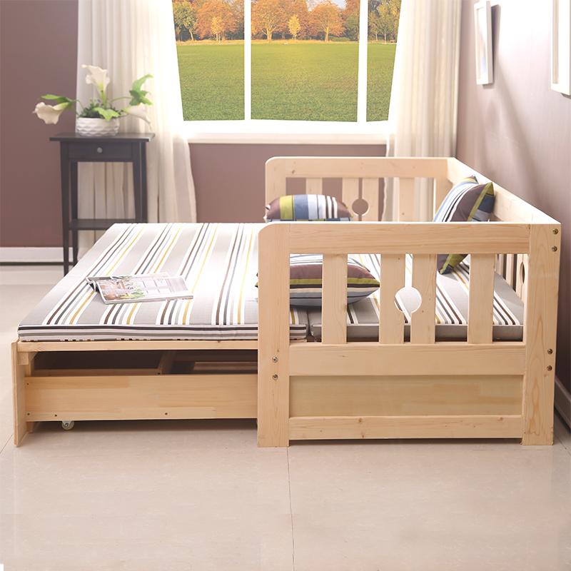 Venta al por mayor madera plegable marco de la cama-Compre online ...