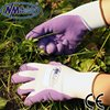 NMSAFETY cheap latex gloves/latex gloves with design/purple latex gloves