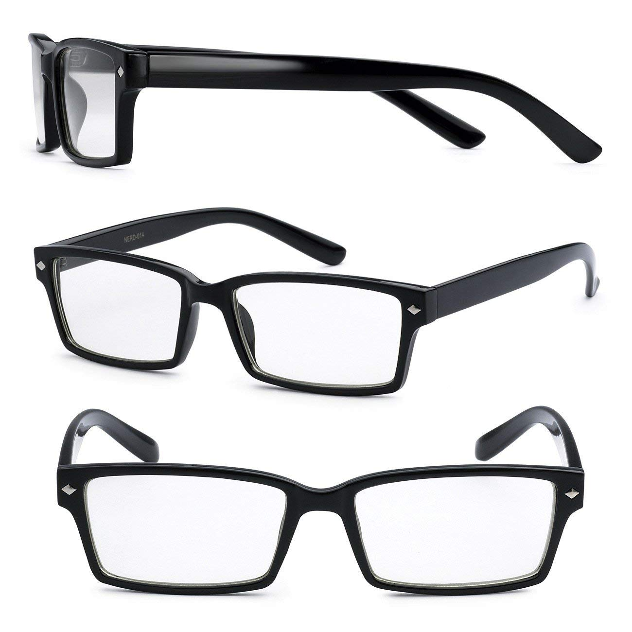 ed764356261 Buy Retro Rectangle Nerd Fake Geek Hero Glasses w  Clear Lens in Cheap  Price on m.alibaba.com