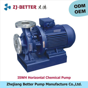 10hp ISWH horizontal chemicals liquid pump sump pump chemical water pump