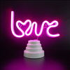 Home decoration neon sign night lamp Cute Figurine neon Table light