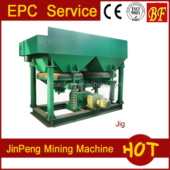 China Gold Refining Tool Mining Jig Concentrator for Sale