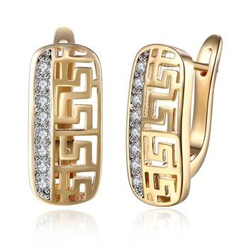 2017 Dull Gold Earrings Egyptian