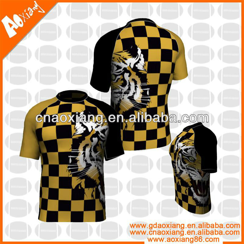 Yellow And Black Rugby Jersey Brazil League Jerseys Sublimation Soccer Product On Alibaba Com