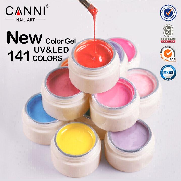 50618j Canni Nail Art Paint Uv Gel Thick Color Gel Nail Art Paint ...