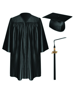 Customized Black Red Kindergarten Graduation Apparel/bachelor Gowns