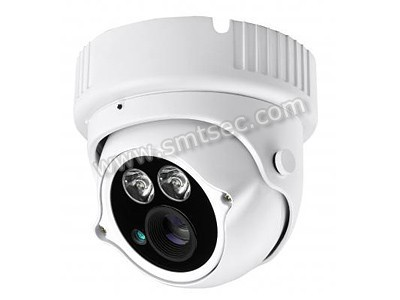 "2 pcs LED Arrays 40m IP66 1/3""CMOS low illumination Full HD 1080P IP IR Vandal proof Dome Camera(SIP-H10HL)"