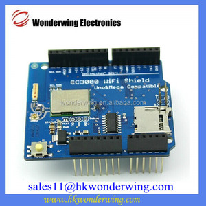 CC3000 WiFi Shield for Arduino R3 with SD card socket support MEGA2560