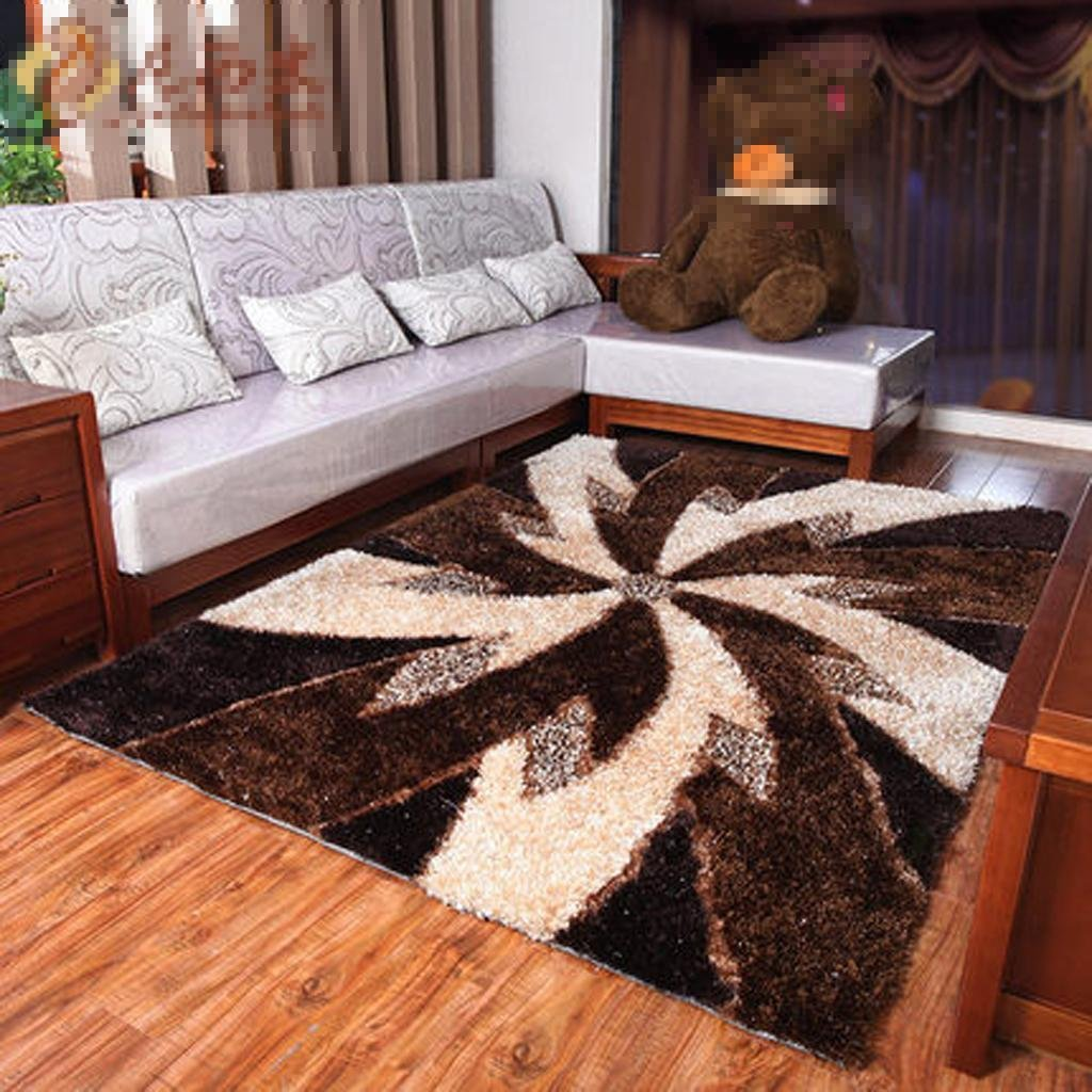 Get Quotations · WSS Bedroom Carpet Coffee Table Living Room Carpet Pad  Luxury Bed Sofa Cushion Blanket , 1.42