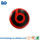 Hot sale bluetooth headset metal logo sticker