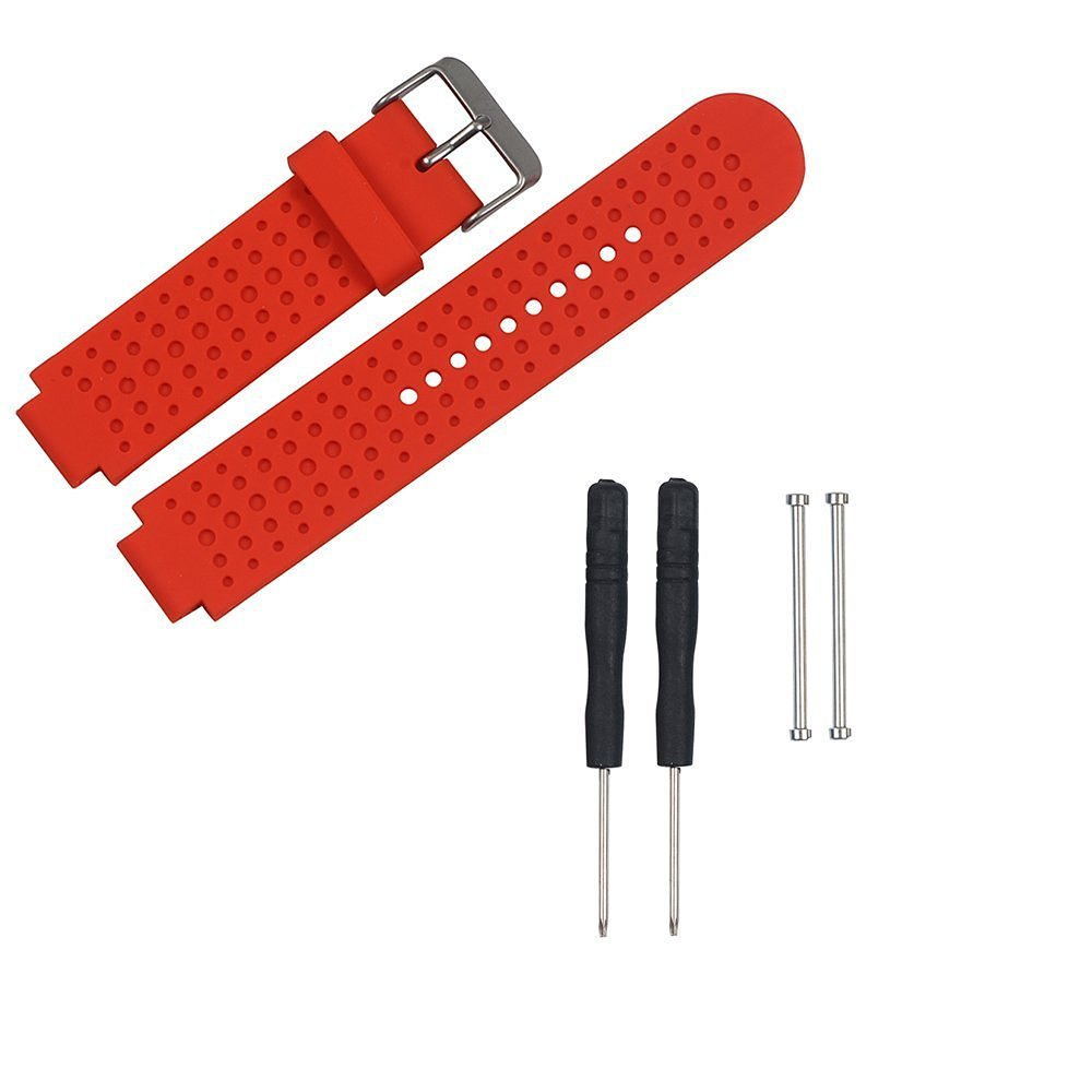 Replacement Bands and Straps for Garmin Forerunner 735XT GPS Running Watch - Red