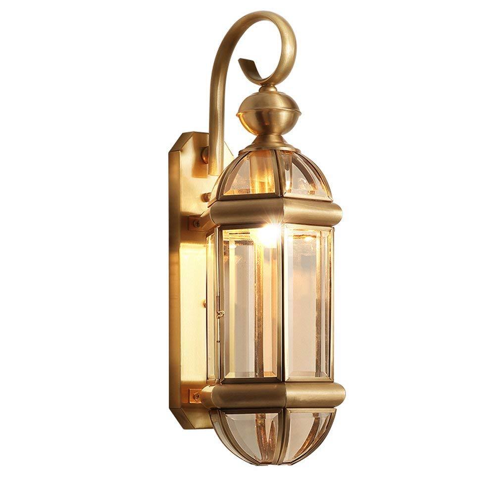 Get quotations · neixy european full copper wall lamp aisle corridor balcony wall lights entrance bedroom outdoor waterproof wall