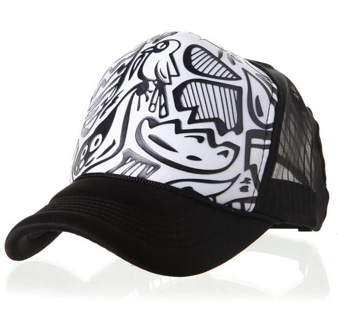 2e58465f8cb Buy new 2015 brand High top mesh cap truck caps net Graffiti wave lorry  gorras snapback trucker hat men women free shipping