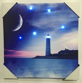 Oem Service Professional Indonesian Carved Wall Art Led Canvas ...