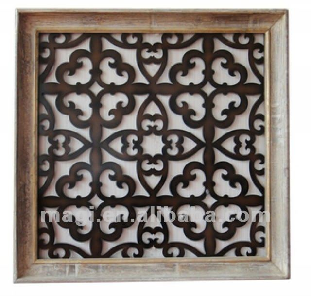 Antique old style oriental ossature de bois d coration - Decoration murale orientale ...