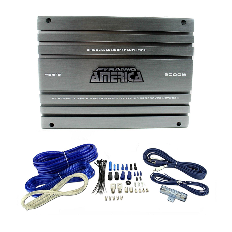 Cheap 2 Watt Wifi Amplifier Find Deals On 25 Mosfet Audio Get Quotations Pyramid 2000 4 Channel Gauge Wiring Kit