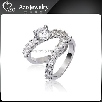 925 Sterling Silver Jewelry 10 Year Wedding Anniversary Ring For