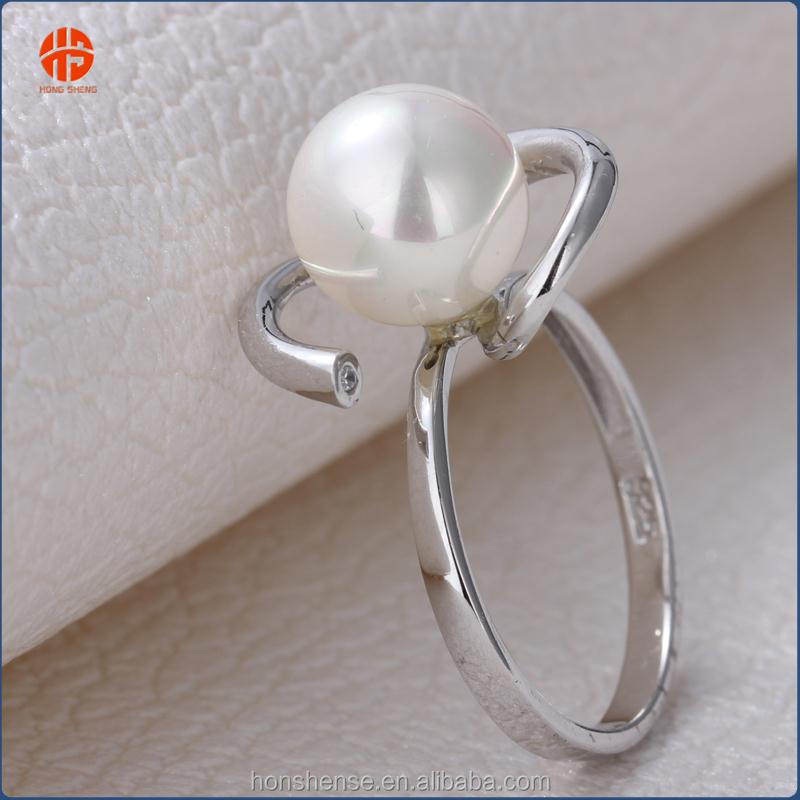 Pearl Ring Designs For Women 925 Silver Simple Ring Jewellery ...