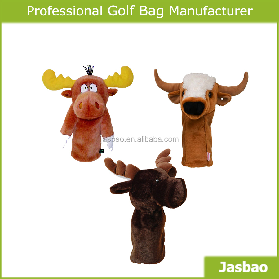 2018Hot Sales Custom Knitted Golf Club Head Covers