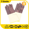 Mechanical lumberjack gloves for electric welding free sample made in china