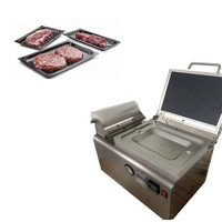 Table tope Meat Cheese Food Mini Vacuum Skin Packing Machine