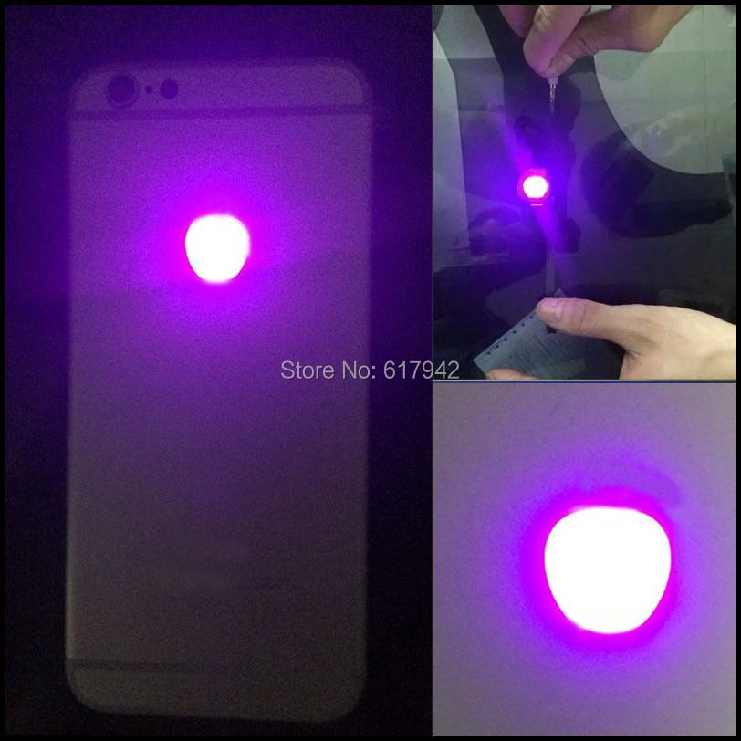 For iPhone 6S Plus flashlight glowing Logo DIY Luminescent LED Light Logo  Mod Kit Glowing Logo light up Mod for iPhone6S Plus