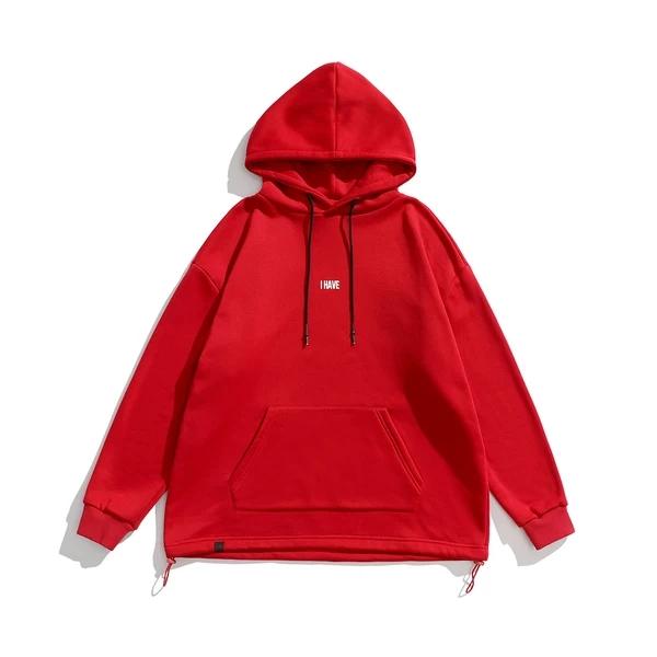 Low MOQ 100% cotton high quality custom men hoodie
