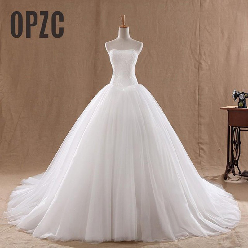 Hot-Sale-0-8M-Court-Train-Wedding-Dress-2016-Cheap-Celebrity-Strapless-Vintage-Tulle-Bridal-Ball.jpg_640x640