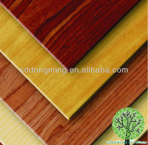Green decorative plywood timber, high-grade natural red oak veneer interior sheet metal furniture board
