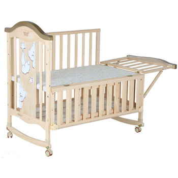 Modern Wooden Cot Bed New Baby Crib Bed Changing Table Baby Simple Design  Wooden Bed - Buy New Baby Crib,Baby Simple Design Wooden Bed,Bed Changing  ...