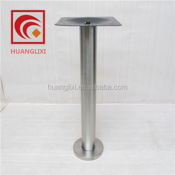 indoor fixed stainless steel table legs for cafe
