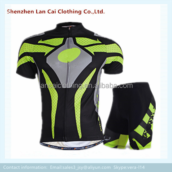 Sportswear Product Type and OEM Service Supply Type Cycling Jersey Set