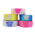 2019 New Trend Designer Fashionable Shiny Two Colors Custom 3 inch Craft Sequin Ribbon For Cheer Bows