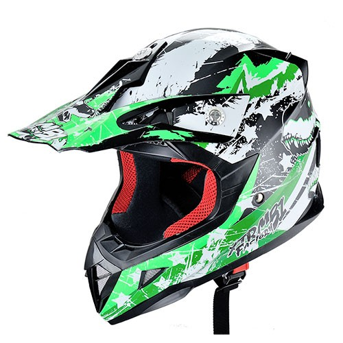 YM-211 ECE approved cross kids helmets unique motorcycle helmets Off Road Racing Helmet motocross helmet