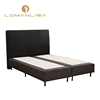 Wholesale Hotel Modern Wood Slatted Queen Size Bed Base
