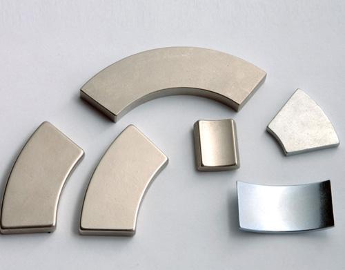 Permanent Rare Earth Magnet N35-n52 N42 Half Ring Neodymium Magnet ...