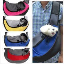 Drop shipping Pet Carrier Cat 기계를 동물 음식을 Small 동물 개 Carrier Sling 앞 Mesh 여행 Tote Shoulder Bag Backpack