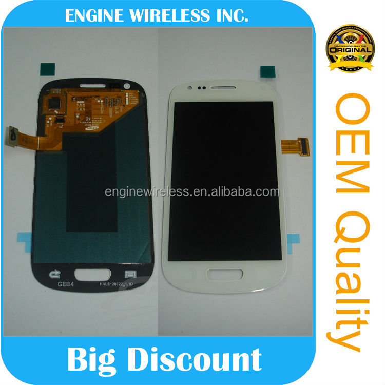 lcd touch screen glass for galaxy s3 mini i8190,hot sale,made in china