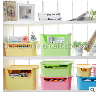 Household items decorative plastic storage box