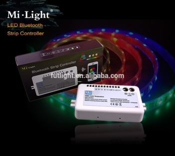 music bluetooth bulb timer present function RGB+waim white and cool white led rgb strip Bluetooth controller