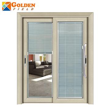Balcony Security Slding Timber Glass Door With Shutter Designs Buy