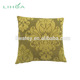 Lime/Olive Green Damask faux silk curtain furnishing fabric cushion cover Pillow