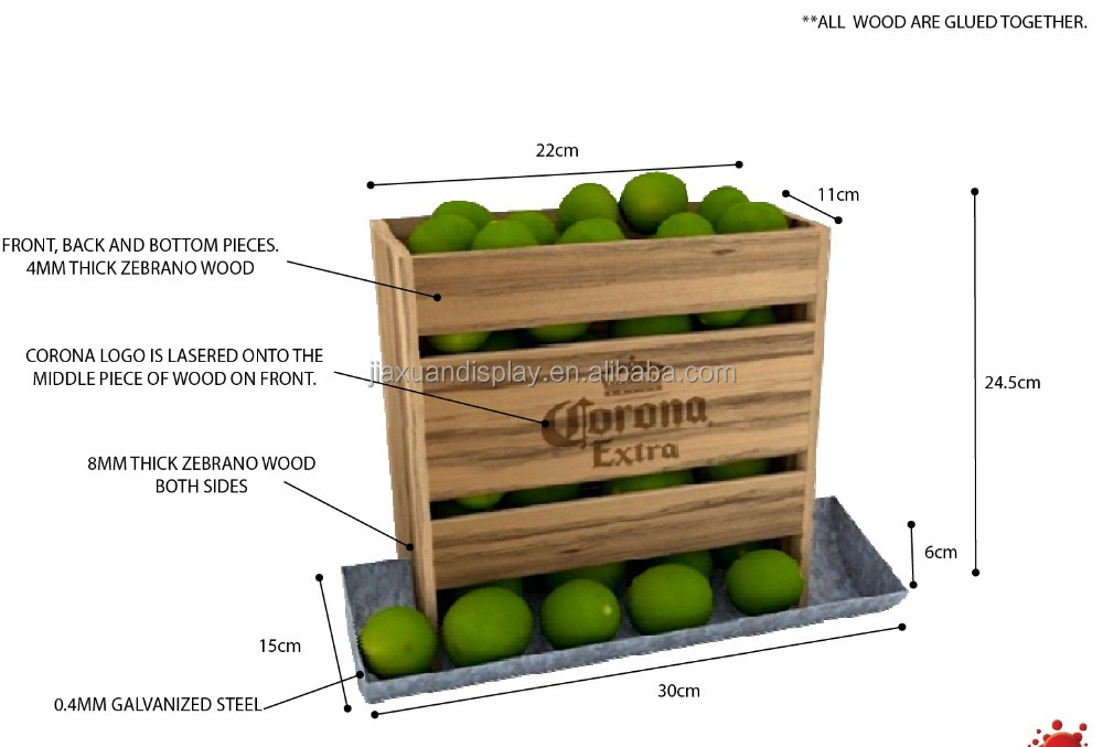 Corona Lime Tower Dispenser Desk Display View Lime Dispenser Desk Display Jiaxuan Product Details From Jiaxuan Storage Display Co Limited Dongguan On Alibaba Com